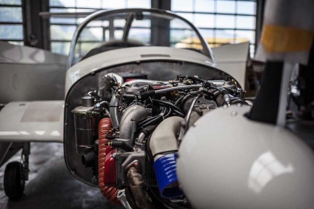 Detailaufnahme Motor