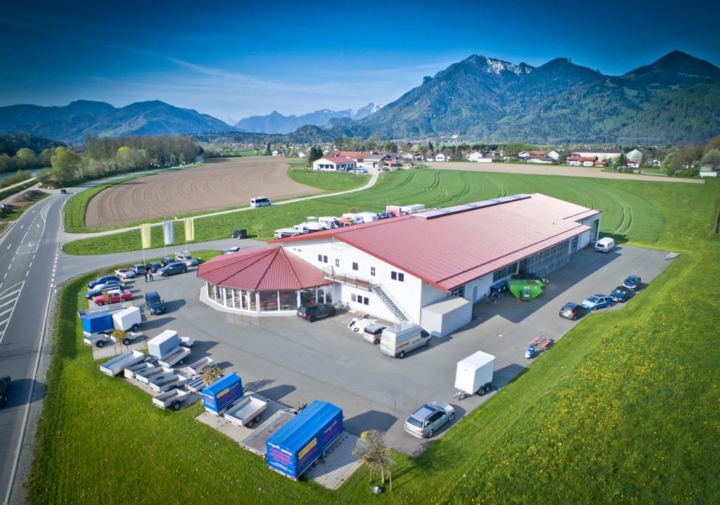 Gelände KFZ Christian Maier in Grassau