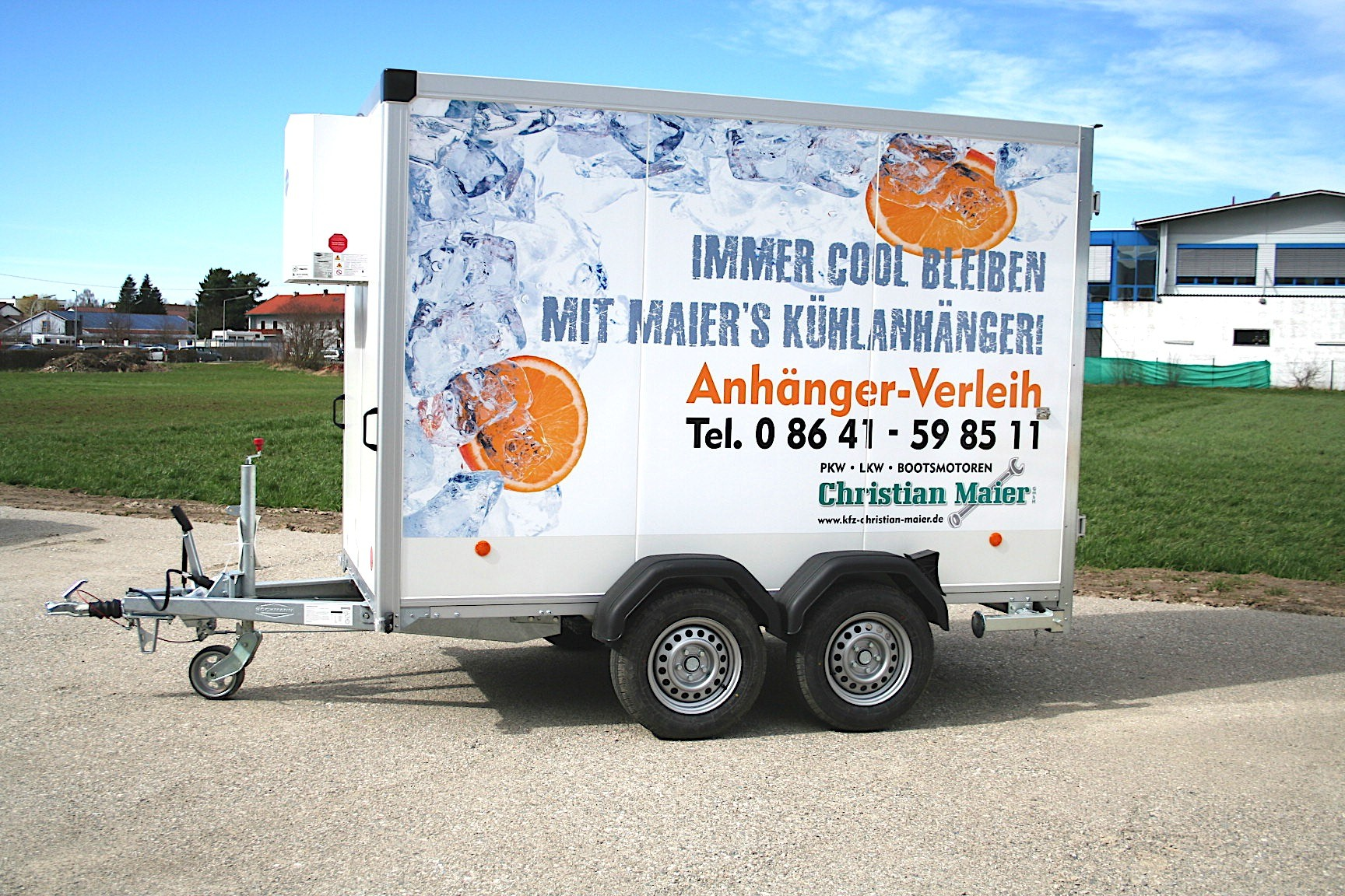 Kühlanhänger von KFZ Maier