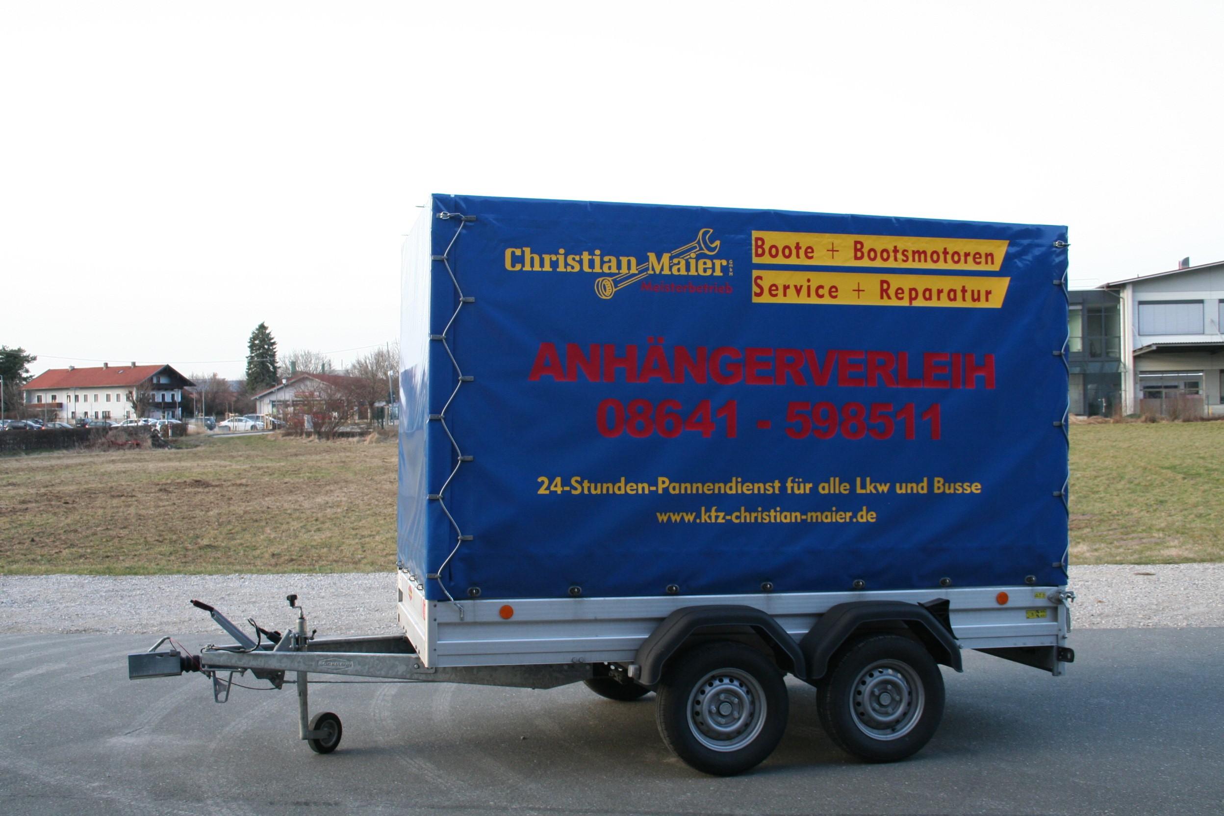Anhänger Christian Maier - Anhängerverleih