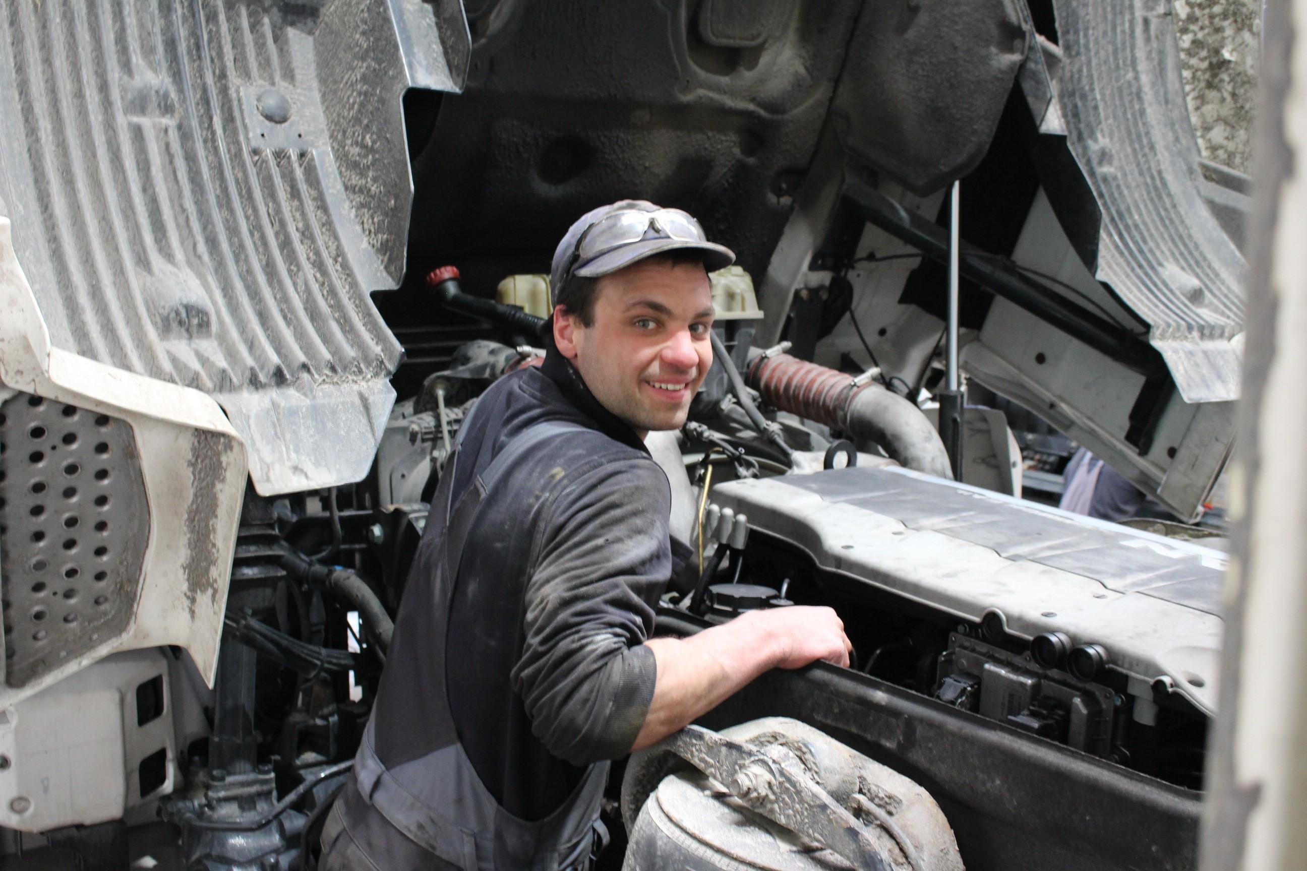 Aaron Maier - Arbeiter bei KFZ Maier